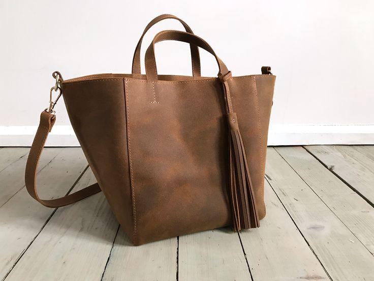 Nordic Sack Fringe Vintage Brown