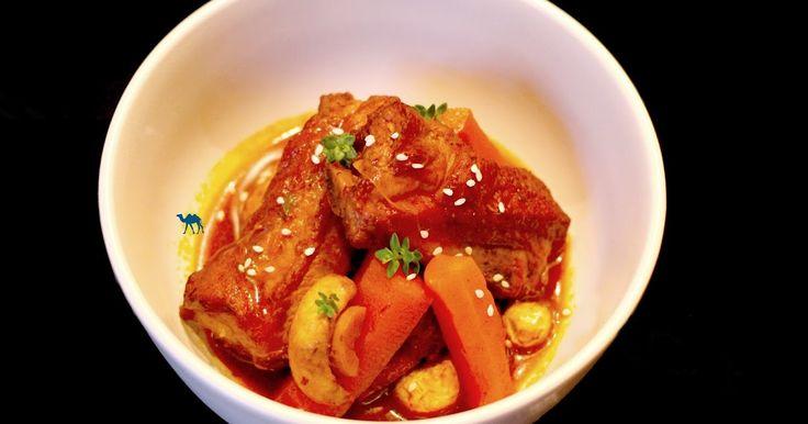 Saveurs inspirées du pays du matin calme dans vos assiettes : nous vous proposons aujourd'hui la recette du ragoût de travers de porc à la coréenne. #recette #recipe #coree #coreen #korea #korean #homemade #homecook #homecooking #pork #spice #vegetable #kochujang #gochujang #food #cuisine #asianfood #foodporn #foodshare #coocking #gastronomie #asia #asian #asie  #homemade