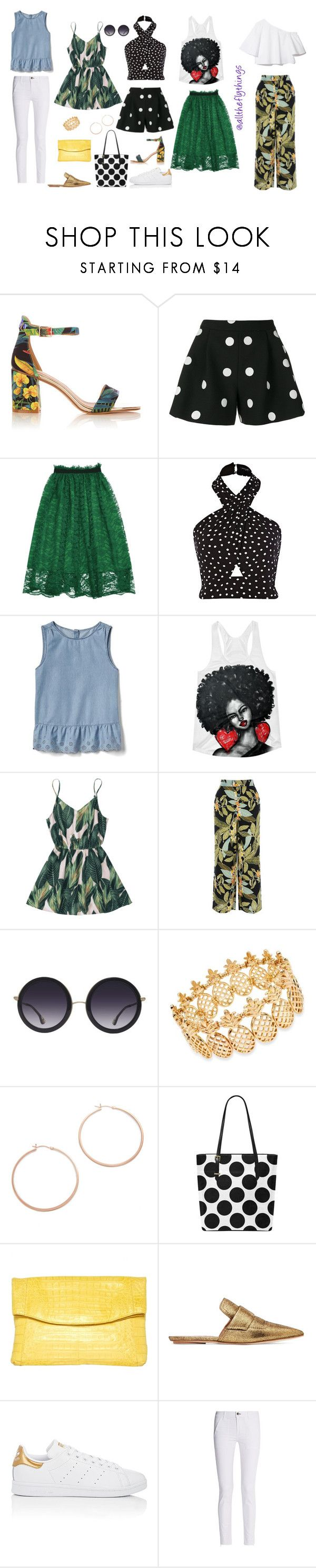 """Vacay Wear: the Remix pt 2"" by all-the-fly-things on Polyvore featuring Boutique Moschino, Gap, Warehouse, Alice + Olivia, INC International Concepts, Jennifer Zeuner, Nancy Gonzalez, Marni, adidas and rag & bone"