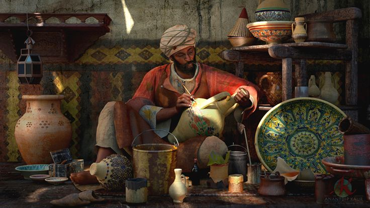 The Pottery Workshop by Anantdip Kaur of India. Keep sending your entries as META is extended for 1 more week!! http://metalentsawards.com/en/contest/view/2502
