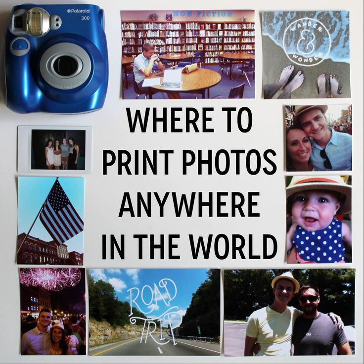 Where to print photos anywhere in the world by Lauren-Likes