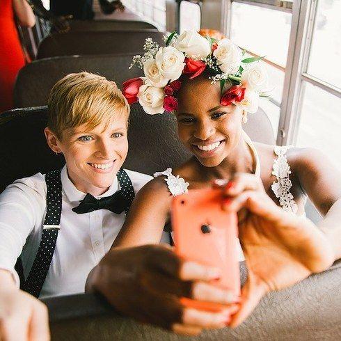 16 Dapper Brides Who Said No To A Dress