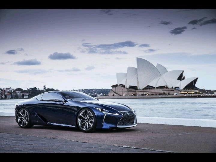 Lexus LF LC Concept Car