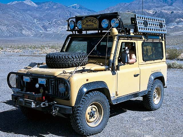 Land Rover Defender 90 I Like The Camel Look Alike Colors