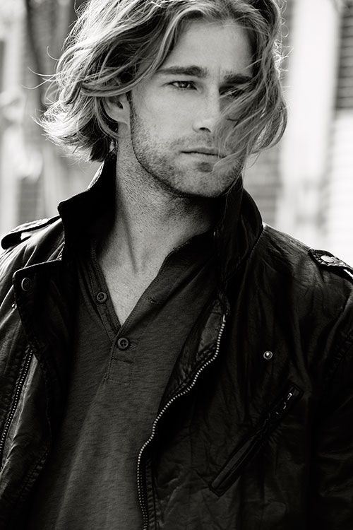 Mens Hair Long Style FW 2013 - Long Hair Blond