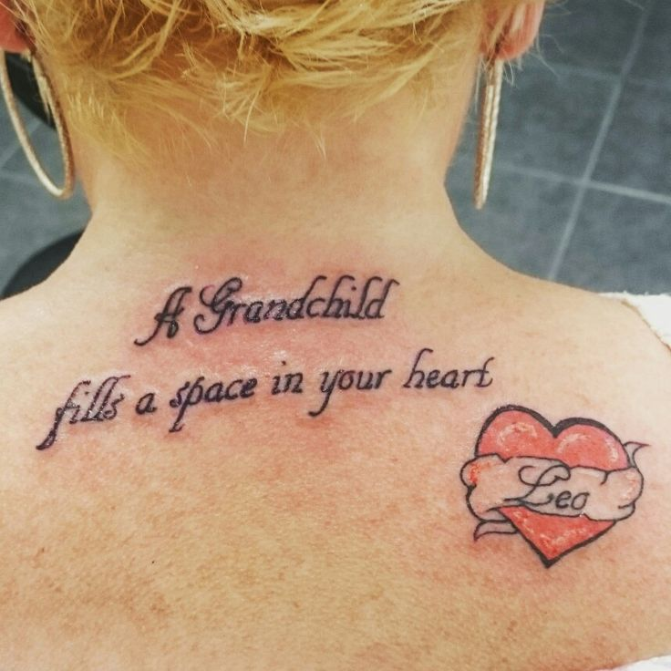 141 best images about tattoos on pinterest for Tattoos with grandchildren s names