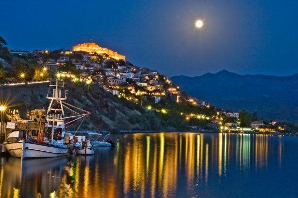 Molivos, Griekenland (eiland Lesbos)