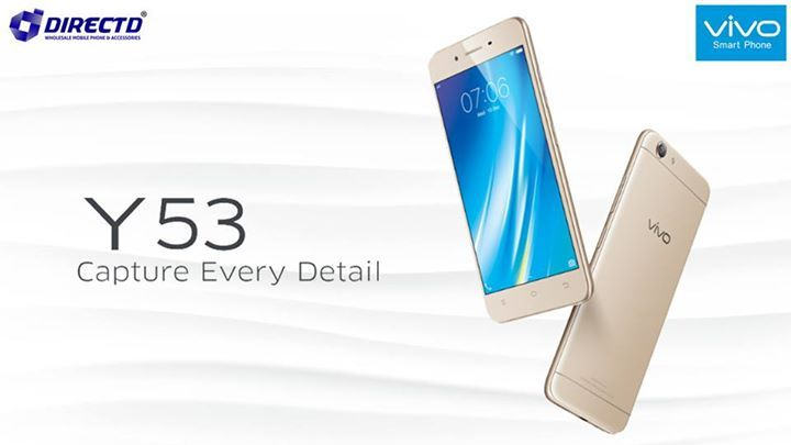 """LATEST MODEL! VIVO Y53 is now available at DirectD.  Price is RM699 or RM116 x 6 months.  Key features:  5"""" qHD display, 960 x 540 pixels resolution, 1.4GHz Quad-core Qualcomm Snapdragon 425 processor, 2GB RAM, 16GB ROM, microSD card slot, Android 6.0 Marshmallow, 2500mAh battery, 8MP rear camera, 5MP front camera, dual sim and many more!  More info : http://www.directd.com.my/vivo-y53  Or walk in ;   DirectD Gadget Mega Store. Lot 11, Jln 51A/219, PJ (next to Mazda service Centre, same row…"""