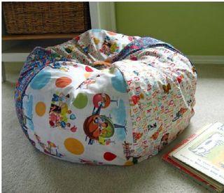 I like this idea!: Craft, Idea, Beans, Bean Bag Chairs, Bean Bags, Diy, Kid