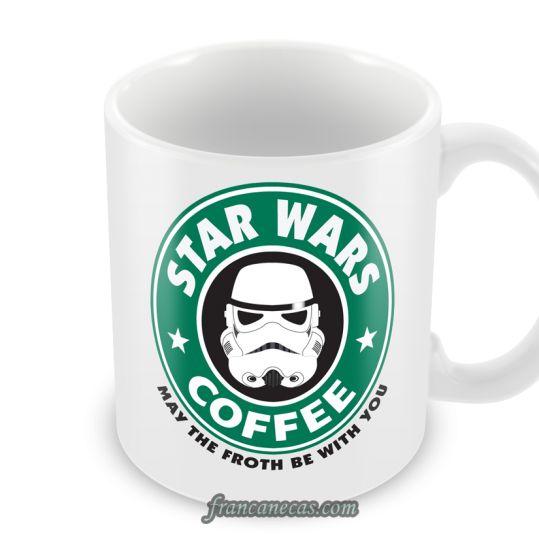 Caneca Personalizada Star Wars Coffee | Francanecas.com