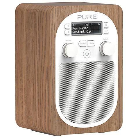 Buy Pure Evoke D2 DAB/FM Digital Radio Online at johnlewis.com #FashionMyHome