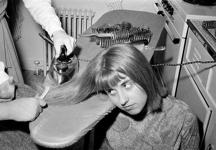 Saç ütüleme (1960'lar)