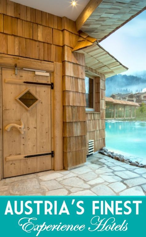 The spa at the Bio-Hotel Stanglwirt in Tirol Austria - one of the best hotels we've visited - upgrade to a suite!
