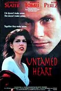 """310 Days-Romantic Films:Till Valentine's:...UNTAMED HEART...is sentimental and a film some Guy's (gal's) need to watch, U know who U are ... LOVE STORY AD BABOONS HEART How we relate 2 each other is examined thru Caroline's (marisa tomei) relationship trials. Christian Slater became Heartthrob of the year. Good Acting saves this film. 2/3 scenes are uncomfortable to watch. Minnesota in winter brrr. 2 songs have stayed w/me, 'getting ready & hockey game' QT: """"You are my peace."""" May need…"""