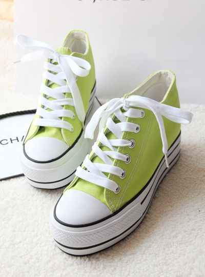 shoes - http://zzkko.com/n168397-013-new-Korean-version-of-the-candy-colored-canvas-shoes-women-shoes-tide-shoes-thick-crust-muffin-with-low-shoes.html $13.17