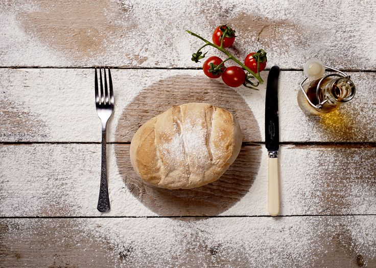 Freshly baked bread, Food Photography By White Cloud Photographic.