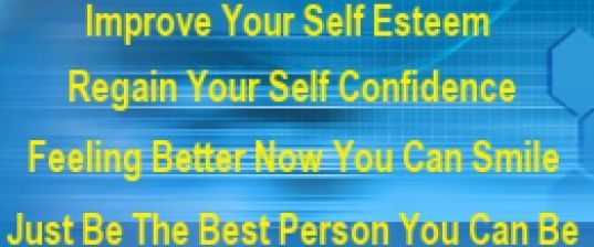Self Esteem Improvement Start Now Before it is too late : Be determined to improve your self esteem and you are on your way to great achievement. Do not let a low self esteem ruin your life. The way you think about yourself determines how you interact with others. What are some examples of low self esteem that you need improvement on? 1. Nothing you do seems to go right 2. You believe that most people do not like you. 3. You believe that you are not attractive. 4. You choose something and...