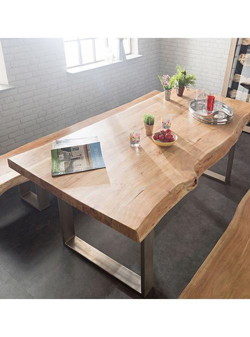 Oltre 25 fantastiche idee su gambe del tavolo su pinterest tavolo da pranzo tavolo di quercia - Mobili in castagno massello ...