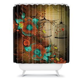 DENY Designs Home Accessories | Iveta Abolina Rusty Lace Shower Curtain