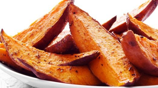 CHIPS - Roasted Sweet Potato Wedges