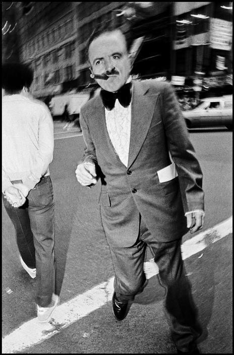 Bruce Gilden. New York City. 1986