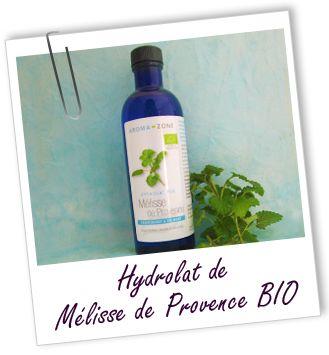 Fiche technique Hydrolat de Mélisse de Provence BIO - Melissa officinalis