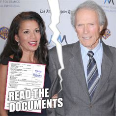 Clint Eastwood's Wife Files For Legal Separation After Bizarre Wife Swap | Radar Online