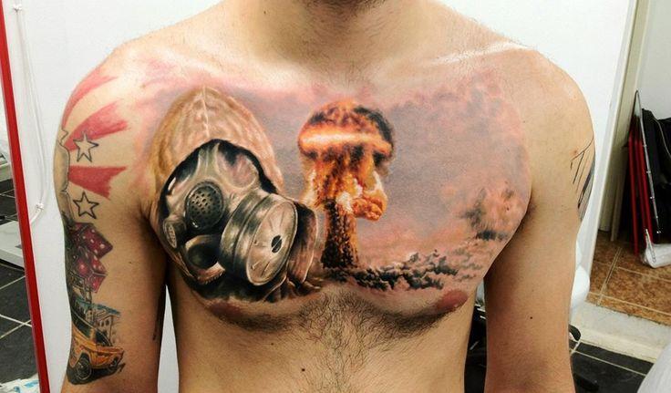 nuclear apocalypse tattoo apocalypse pinterest tattoos and body art and apocalypse. Black Bedroom Furniture Sets. Home Design Ideas