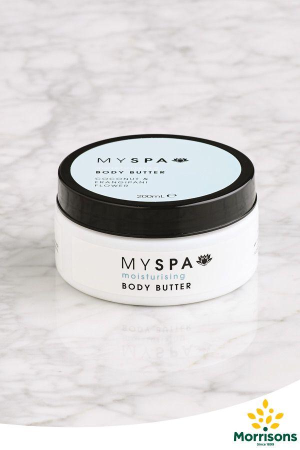 Morrisons My Spa Body Butter (Coconut & Frangipani)