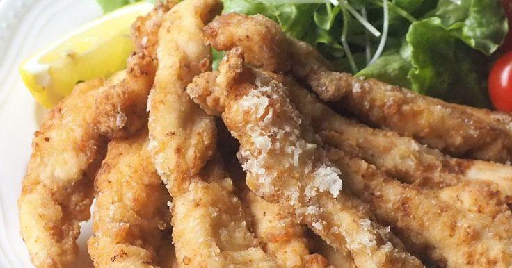 ムネ肉やわらか♡スティックチキン唐揚げ by emyo [クックパッド] 簡単おいしいみんなのレシピが271万品