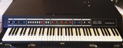 Crumar DP 80 analog Piano Synthesizer Vintage in Nordrhein-Westfalen - Haan   Musikinstrumente und Zubehör gebraucht kaufen   eBay Kleinanzeigen