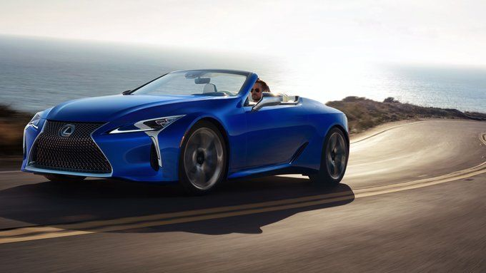 Lexus Is Auctioning Off The First Ever 2021 Lexus Lc 500 Convertible For Charity At Barrett Jackson This Friday All In 2020 Lexus Lc Good Looking Cars Lexus Models