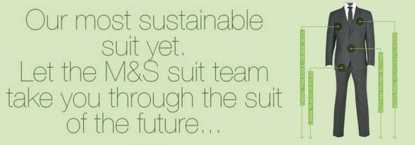 First ever Sustainable suit- made by M&S!!!