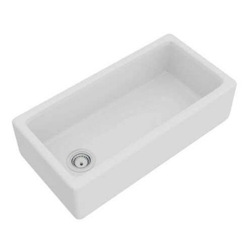 Rohl Rc3618wh Shaws 36 Farmhouse Single Basin Fireclay Kitchen