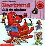 CPRPS 31997000817890 Bertrand fait du cinéma. Un jour, un monsieur demande à Bertrand s'il aimerait faire du cinéma. Bertrand fait un bout d'essai. L'homme déclare que Bertrand est un très grand comédien et il veut tourner un film avec lui. Le lendemain, Bertrand part pour Hollywood. Mais, après peu de temps Bertrand s'ennuyait...