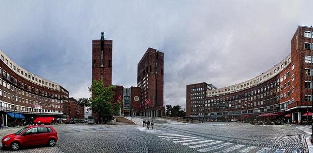 Oslo, ayuntamiento