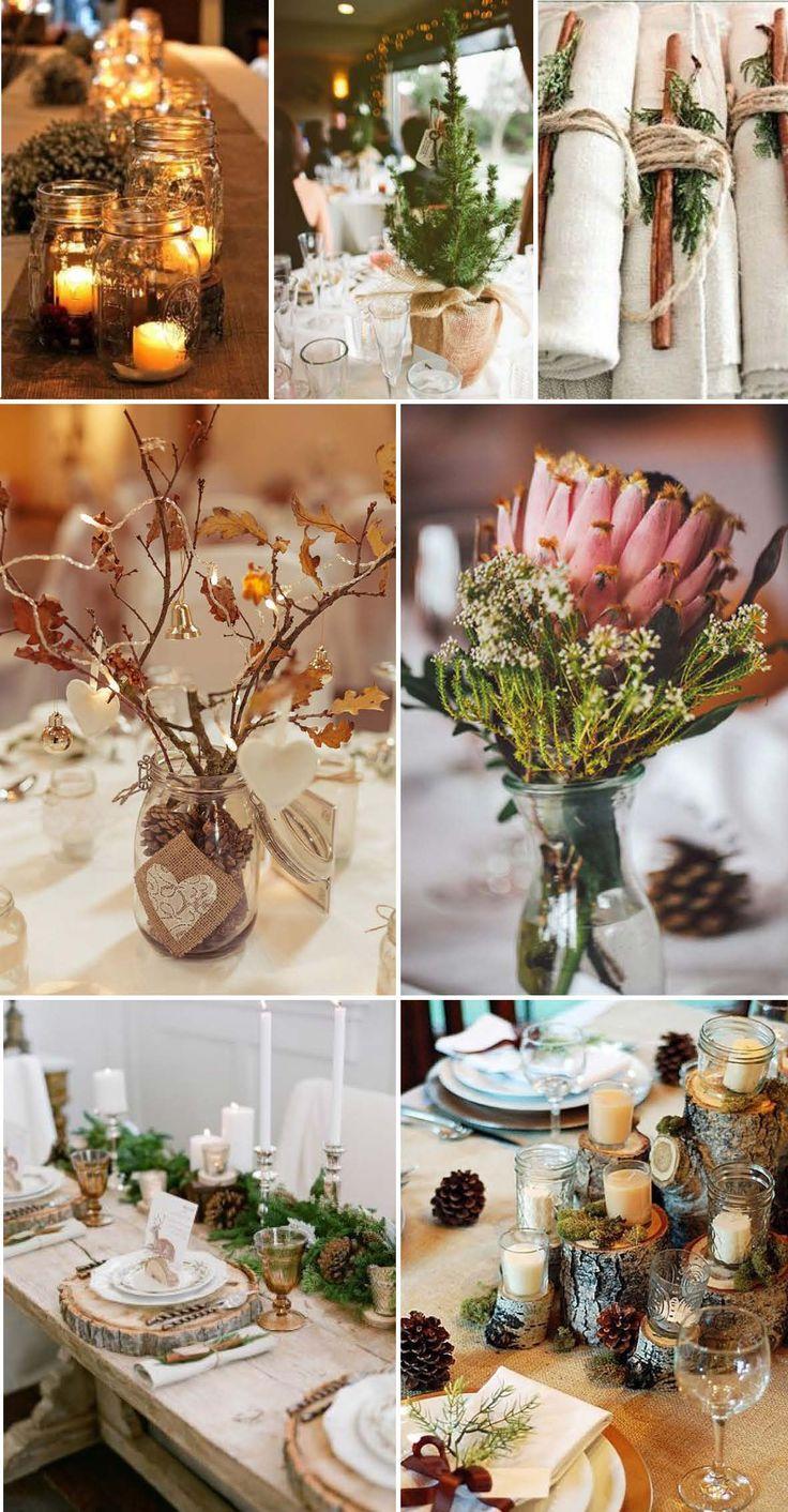 Deko Tisch Hochzeit Winter Mustertische Zur Goldenen Hochzeit Bei