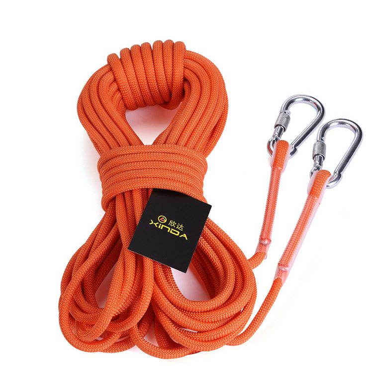 10M Mountaineering Rope Rock Climbing Rope Cord 9.5mm Diameter High Strength Cord Safety Rope Outdoor Hiking Accessory Outdoor