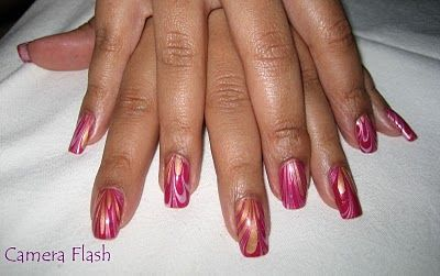 Water Marble~ nail polish trick for awesome looking nails.
