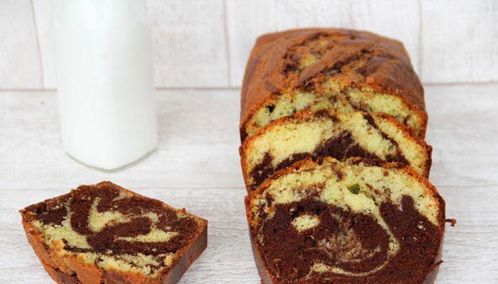 Κέικ χωρίς γλουτένη Βανίλια – Σοκολάτα