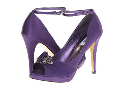 Purple heels with a little bling...called rsvp Alanna...from Zappos