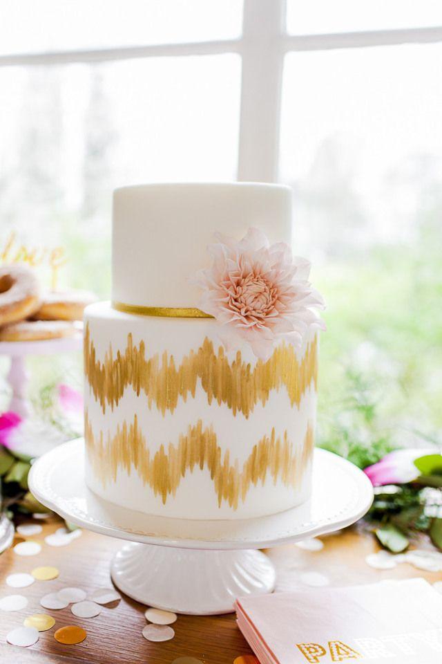 Zit er gouden verf op de taart? Nee dit is een te gekke illusie!