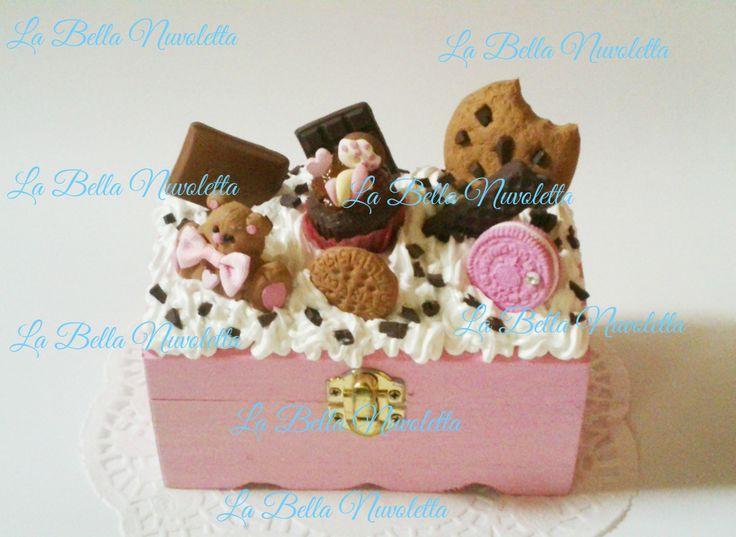 cajita osito con cupcake