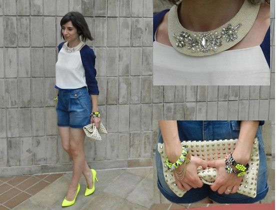 It's all about blue! (by Helena Branquinho) http://lookbook.nu/look/4217689-It-s-all-about-blue