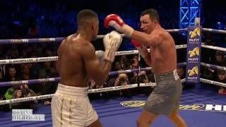 Anthony Joshua vs Wladimir Klitschko 2017 Knockout  Knockdowns and Highlights