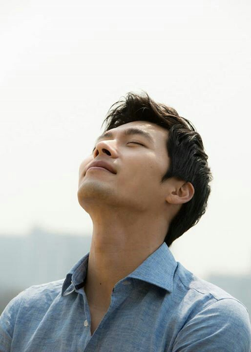 Hyun Bin. my god, give me strength! this handsome face...