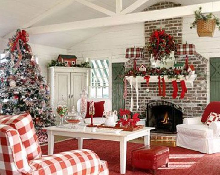 Christmas Living Rooms U2013 Stimulating Ideas U0026 Tips Of The Year   Living Room  Decorating Ideas And Designs Part 86