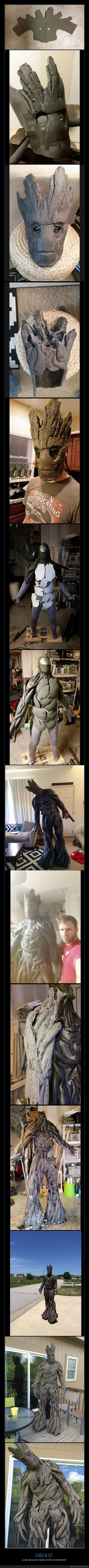 918495 - Groot, un cosplay exquisito