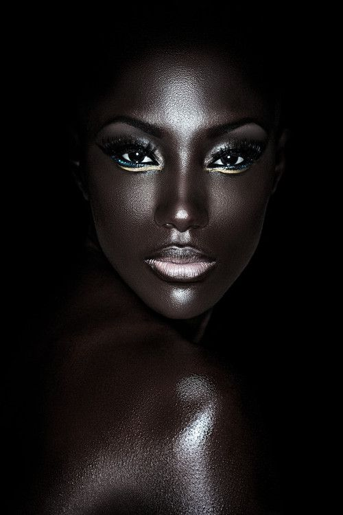 The Infinite Shades and Complexities of Black Skin (what an absolutely Gorgeous woman! ...Nubian goddess