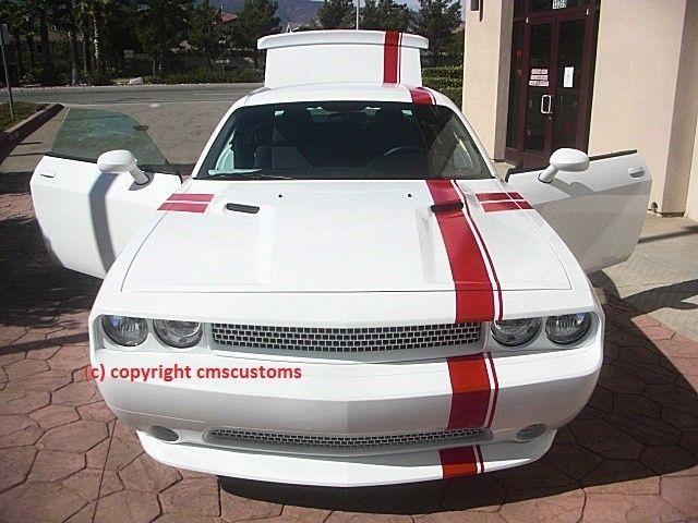 Dodge Challenger Mopar 11 Racing Stripes Decals Trunk Hood Roof Side R/T Graphic #3M